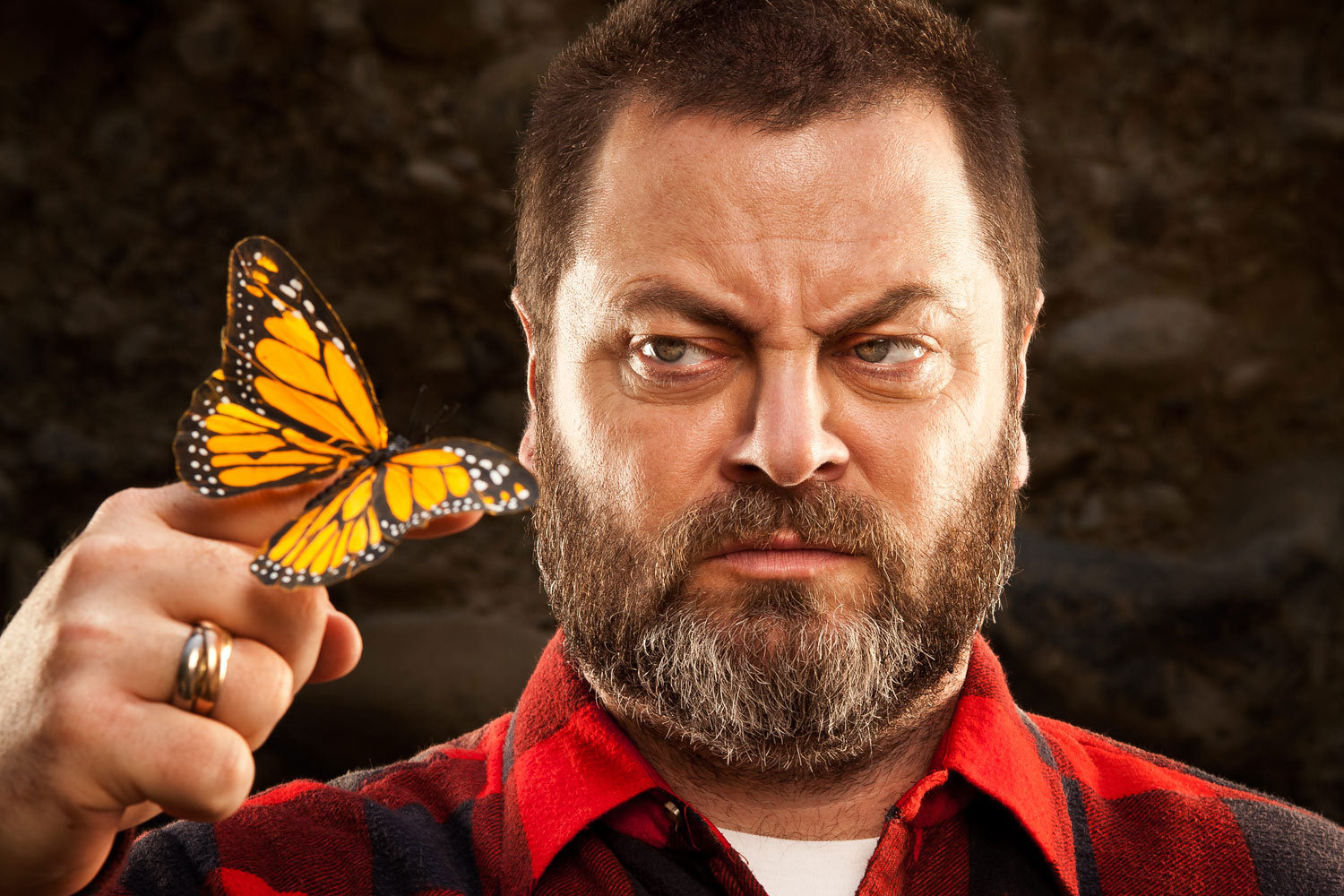 Nick Offerman by Robyn Von Swank