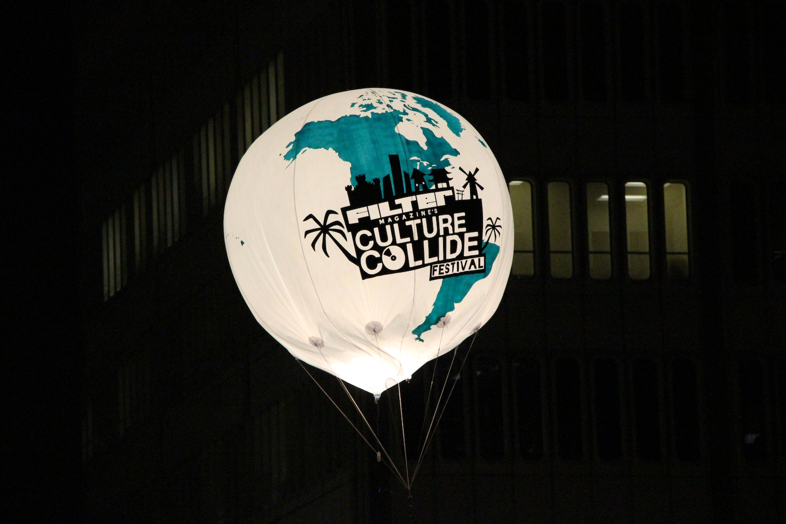 Culture Collide balloon