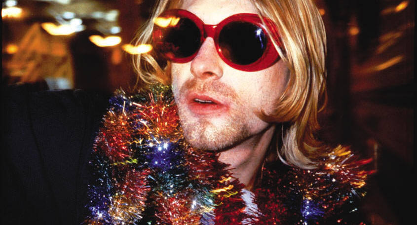 KURT COBAIN AT MTV's LIVE AND LOUD