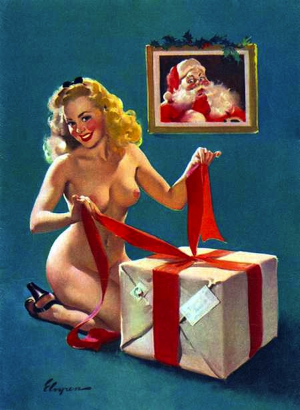 gil-elvgren-wrapping-for-christmas
