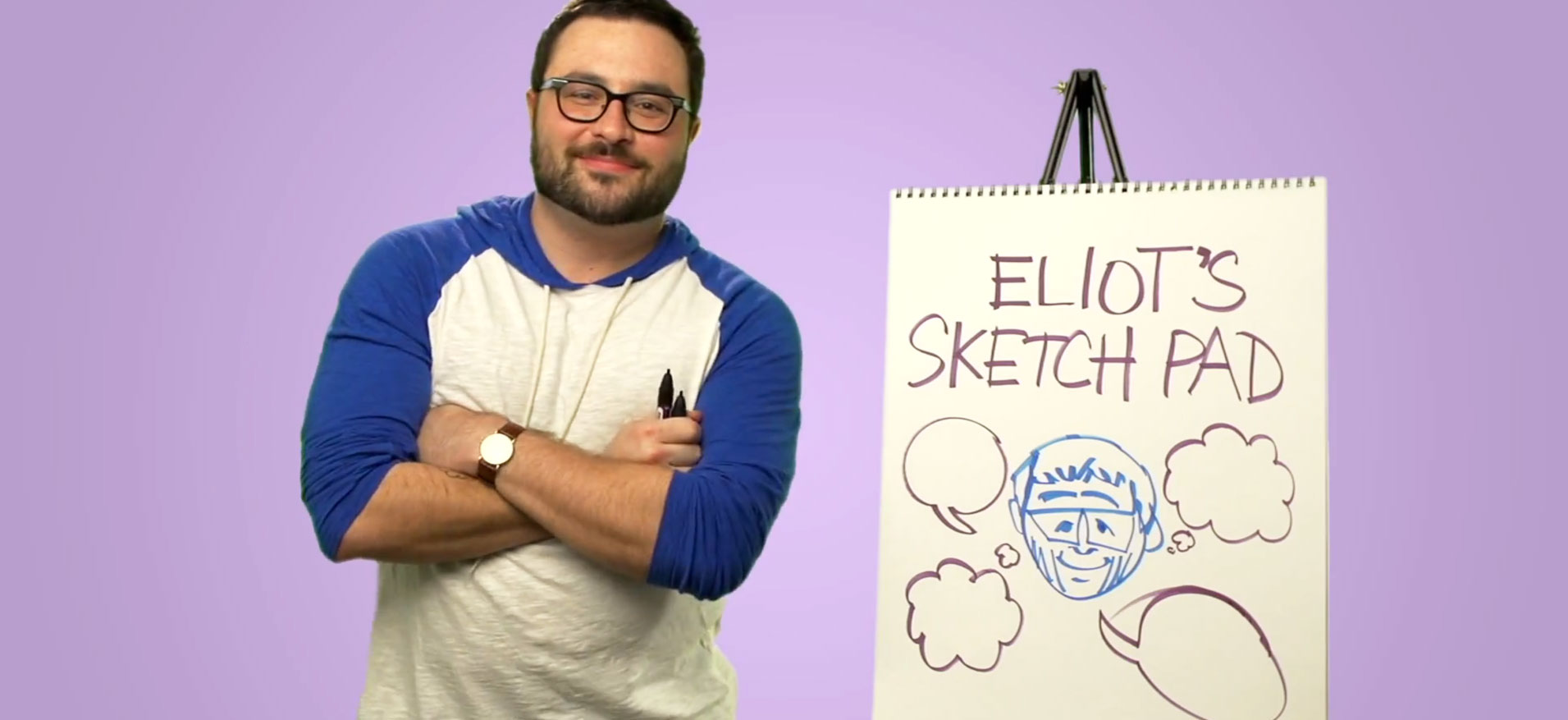 Eliot Glazer Sketch pad