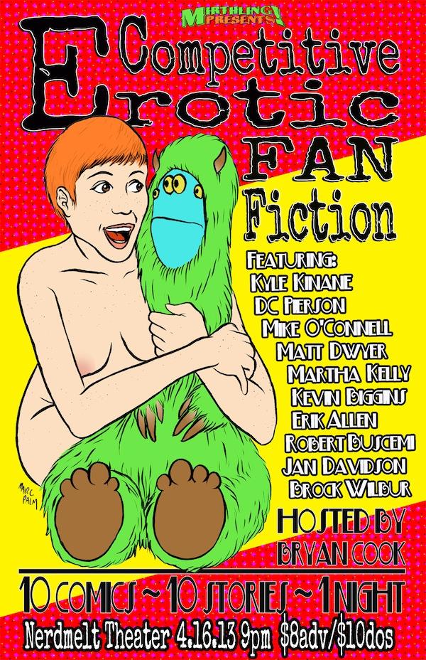 Fan Fic Poster LA 4.16.13 WEB