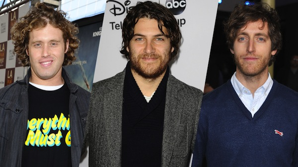 T.J. Miller, Adam Pally & Thomas Middleditch from 'Search Party'