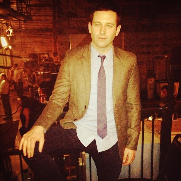 "Brent On The Set Of ""Undateable"""