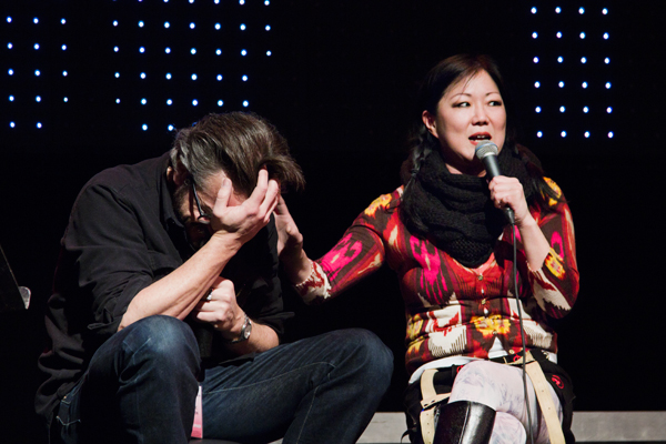 Margaret Cho at the Live WTF Podcast