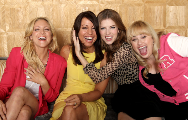 Brittany Snow, Kay Cannon, Anna Kendrick, Rebel Wilson