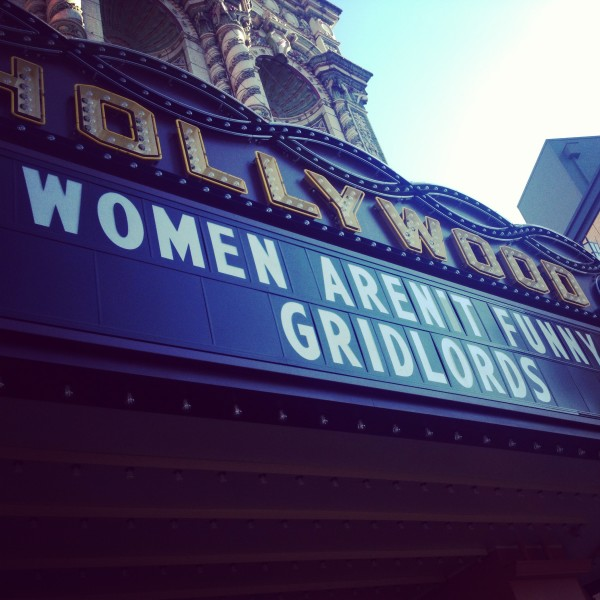 "Screening of Bonnie McFarlane's documentary ""Women Aren't Funny"""
